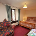 Double bedroom pub accommodation in Exmoor
