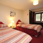 Twin bed and breakfast accommodation in Exmoor